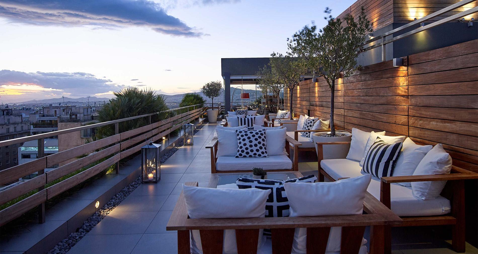 Design And Construction Of Terraces In Hotel Serena Valencia Vitalia Garden